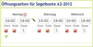 """""""Mindestbuchunsgzeiträume mit dem """"Flexiblen Kalender"""" von Freizeitplan.net"""""""