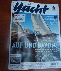 """holzbootcharter.de in der """"Yacht"""" – Bootsvermietung mit freizeitplan.net"""