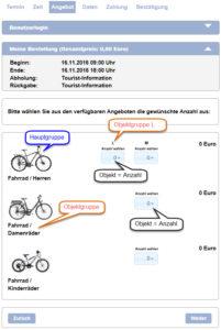 Preiskonfiguration von Haupt- und Objektgruppen geändert